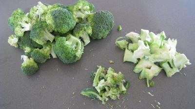Brocolis aux oeufs en salade - 1.2