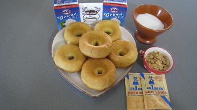 Ingrédients pour la recette : Baba chantilly