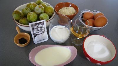 Ingrédients pour la recette : Tarte aux mirabelles