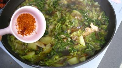 Caldo verde, soupe façon portugaise - 8.1