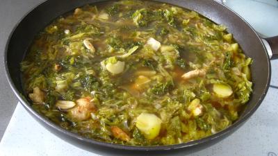 Caldo verde, soupe façon portugaise - 8.3