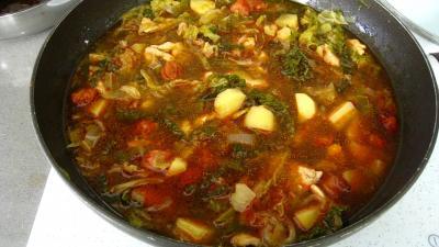 Caldo verde, soupe façon portugaise - 9.4