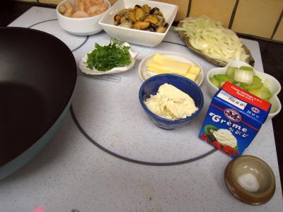 Cassolettes de moules et polenta au boursin - 7.1