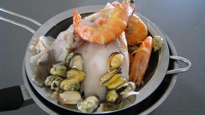 Riz, crevettes, moules et raie à la portugaise - 5.4
