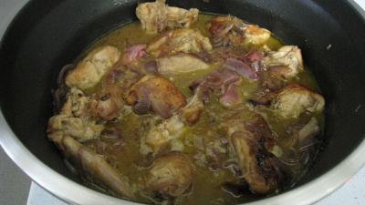 Recette Lapin aux oignons à la portugaise (Coelho de cebolada)