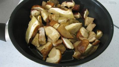 Cèpes aux pommes de terre à la landaise - 6.2