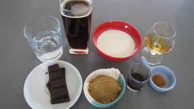 Ingrédients pour la recette : Café au chocolat