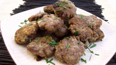 Recette Assiette de boulettes de viande façn allemande