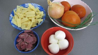Ingrédients pour la recette : Salade Pique-nique