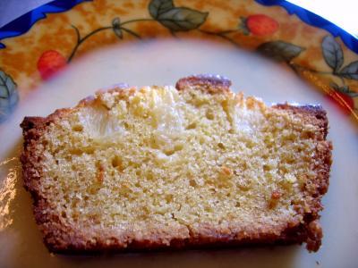 Recette Tranche de cake à l'ananas