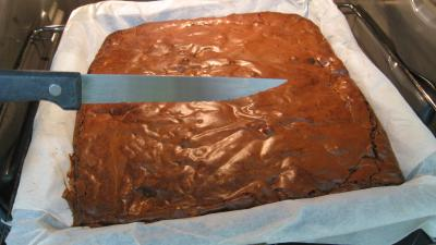 Brownies au chocolat blanc - 9.2