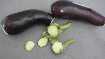 Côtes de porc et sa purée d'aubergines - 4.2