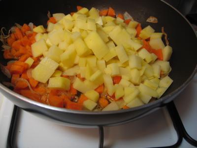 Côtes de veau sautées aux légumes - 5.1