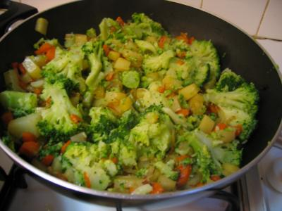 Côtes de veau sautées aux légumes - 7.1