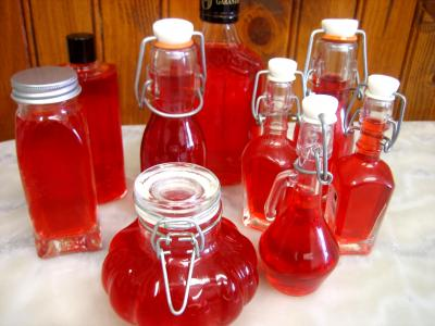Image : Vinaigre de framboises