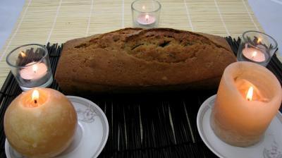 thé : Cake au thé noir