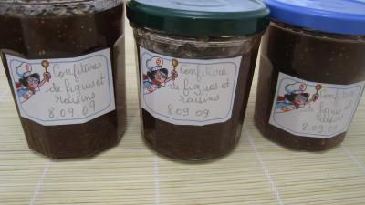Confiture de figues et raisins - 7.2