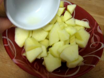 Canapés pomme et surimi - 6.1