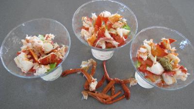 Verrines de homard en salade - 6.4