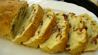 Image : Tranches de cake aux noix