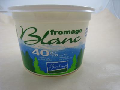 Fromage blanc 40% M.G
