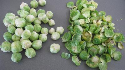 Salade de potiron et choux de Bruxelles - 1.1
