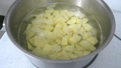 Purée d'aubergines et confit d'oignons et de tomates - 6.3