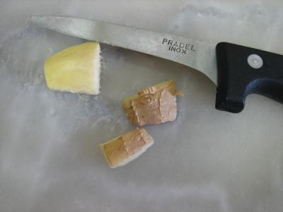 Crème d'artichauts au chèvre - 3.3