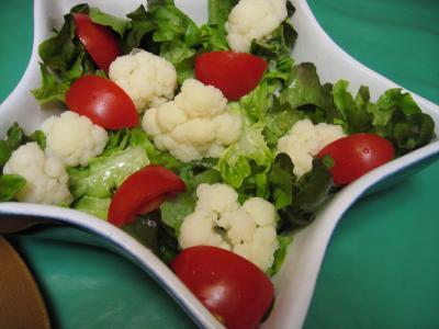 chou fleur en salade supertoinette la cuisine facile. Black Bedroom Furniture Sets. Home Design Ideas