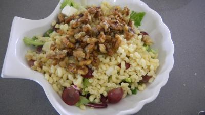 Salade de coquillettes aux noix - 8.3