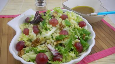 Recette Ramequin de salade de coquillettes aux noix