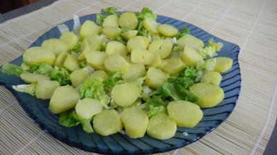 Salade de pommes de terre et merlan - 7.4