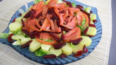 Salade de pommes de terre et merlan - 8.2