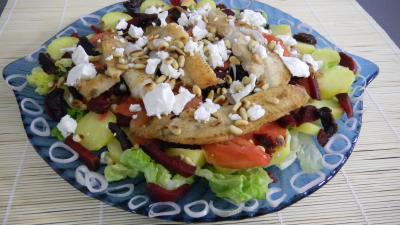 Salade de pommes de terre et merlan - 8.4