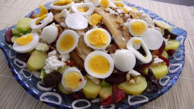 merlan : Salade de pommes de terre et merlan