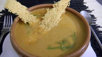 crème aux légumes : Ramequin de crème de châtaignes au miel