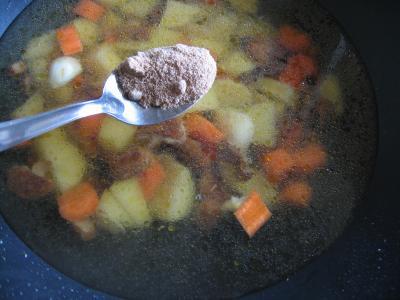Crème de cèpes au curry - 5.2
