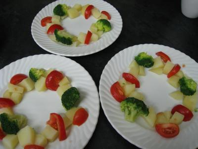 Crumble de camembert et sa salade - 10.2