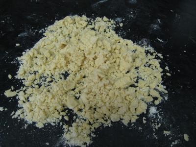 Crumble de camembert et sa salade - 11.4