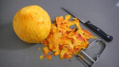 Potimarron et pommes de terre aux oignons confits - 1.1