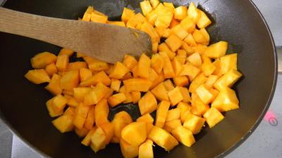 Potimarron et pommes de terre aux oignons confits - 4.1