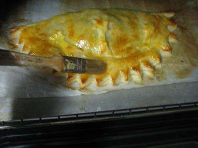 Foie gras et son chausson aux cèpes et panais - 15.1
