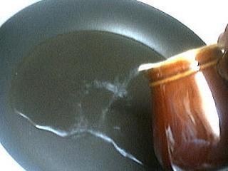 Foie gras sauce aux airelles et poireaux - 1.4