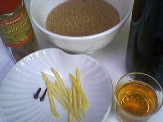 Ingrédients pour la recette : Vin chaud aux épices