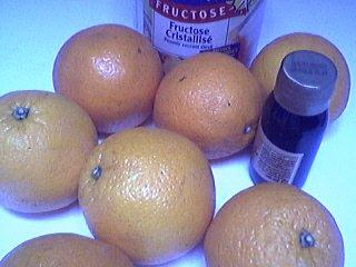 Ingrédients pour la recette : Marmelade d'oranges