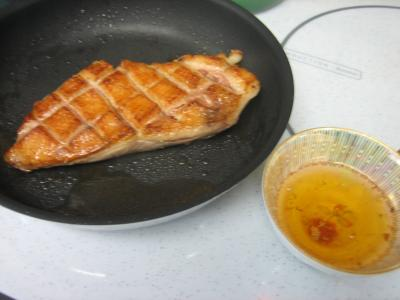 Magret de canard grillé - 3.3