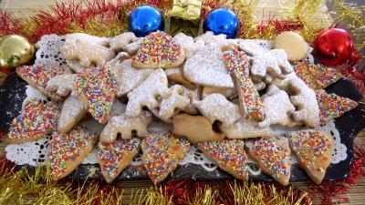 Recette Plateau de biscuits des rois