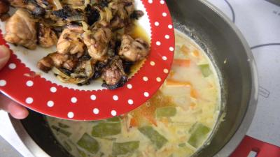 Soupe de carottes aux ris de veau - 9.1