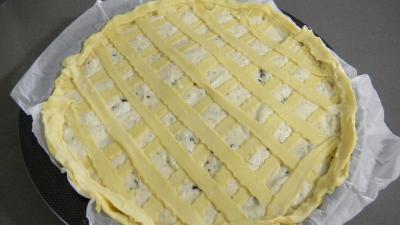 Tarte au fromage blanc et au chèvre - 9.1