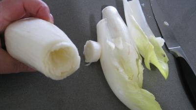 Salade de truite fumée et sa brochette de viandes - 1.1